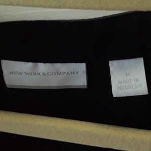 New York & Company Tops - New York and Company Sleeves Blouse Black  Size M